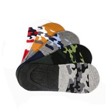 Men's 5 Pairs Pack Cotton Low cut/No-show Causal Socks,Camouflage