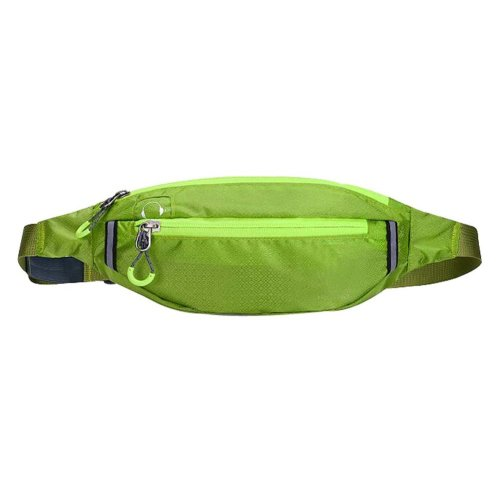 Lovely Fashionable Sports Waist Pack Outdoor Backpacks Durable Lightweight Green