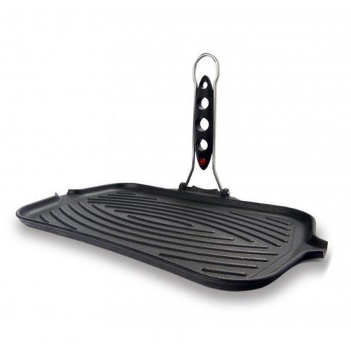 ILSA V90-R Rectangular Cast Iron Grill with thermal Indicator