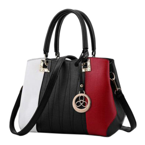 PU Leather, Elegant Handbag Shoulder Bag Fashion Bag Purse Tote Bag Hand Bag J