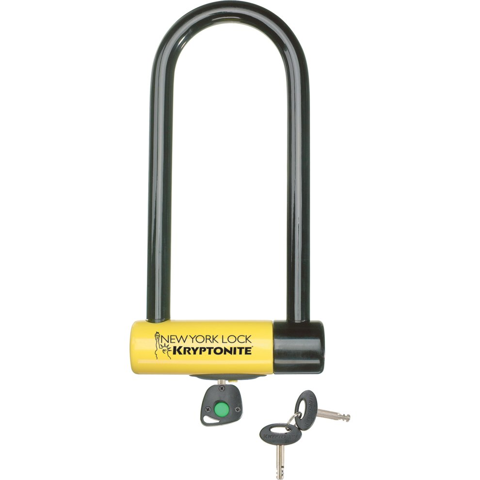 Kryptonite New York Lock M18-WL U-lock - Black/Yellow