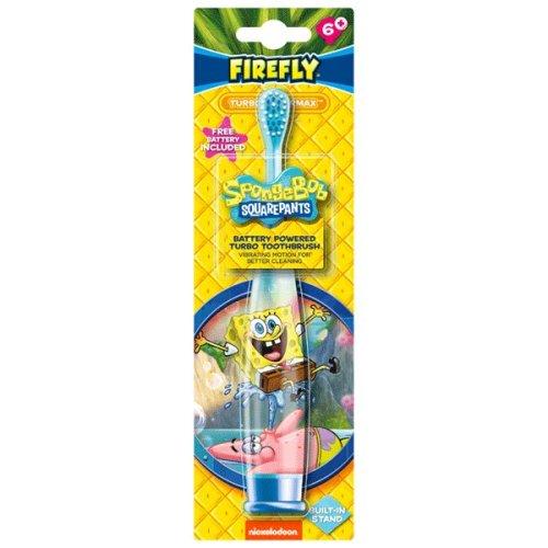 Firefly SpongeBob Squarepants Turbo Max Toothbrush Age 6+