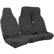 Universal Black Extra Heavy Duty Van Seat Covers Set