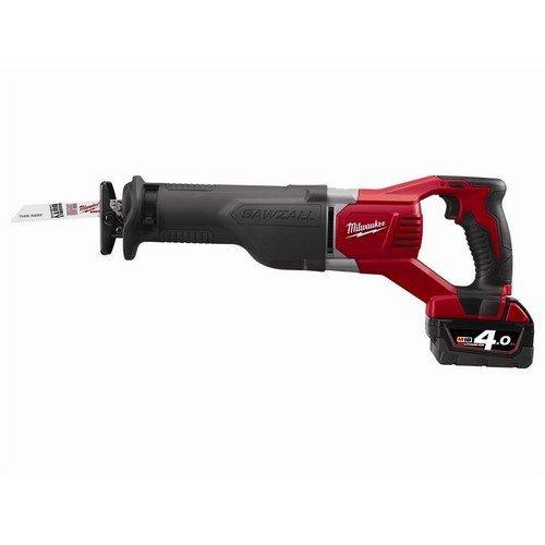 Milwaukee 4933447290 M18BSX-402C Reciprocating Saw 18 Volt 2 x 4.0Ah Li-Ion