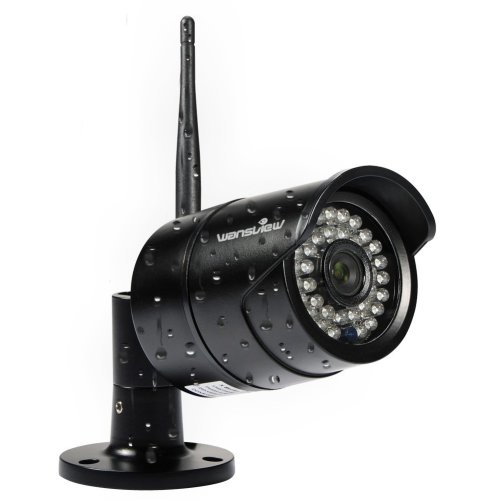 Wansview IP Camera Outdoor, 720P WiFi Wireless IP Security Bullet Camera