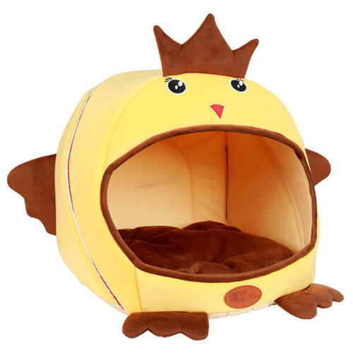 Dog Cat Bed Warm Chicken Shaped Kennel