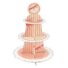 Sweet Hour Cake Stand 3 Tiers Round