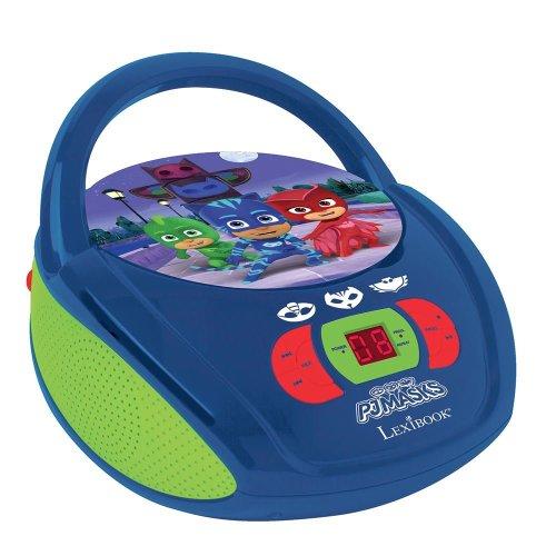 Lexibook RCD108PJM PJ Masks Portable Boombox Radio CD Player