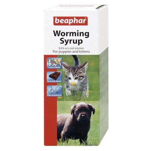 Beaphar Worming Syrup Liquid (6 x 45ml)
