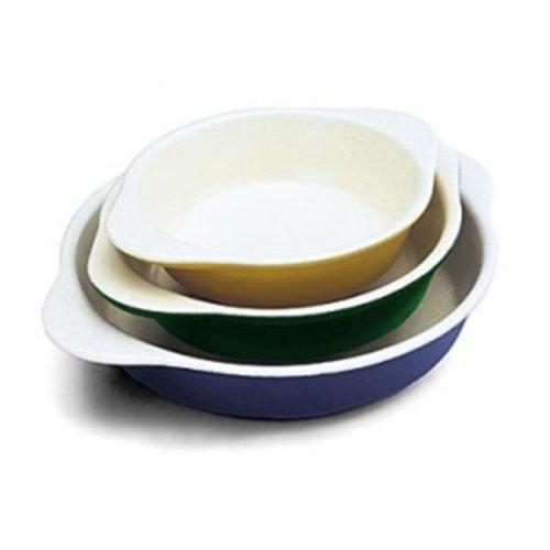 Small .5 Qt Yellow Round Dish