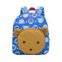 Children Shoulder Bag Cute Cartoon Bag Animals Kids Book Backpack Baby Girls School Bag,E