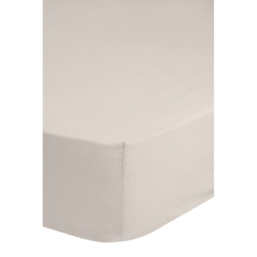 Emotion Non-iron Fitted Sheet 90x220 cm Sand 0220.06.43