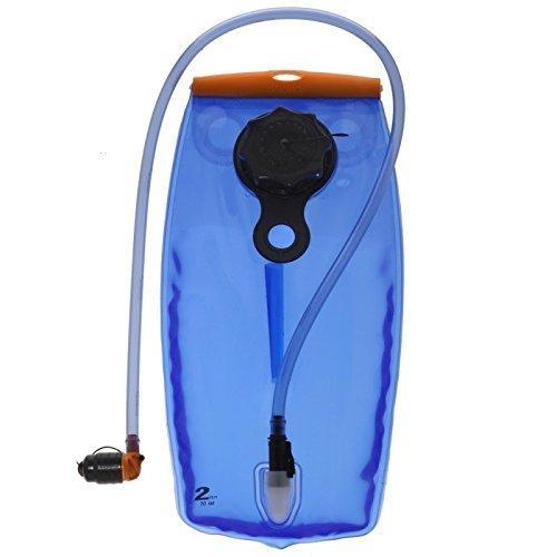 Source Outdoor WXP Low Profile Reservoir 2L Hydration System Transparent Blue