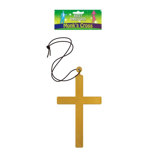 Monk Cross Necklace