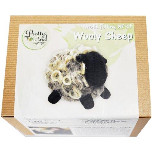 Pretty Twisted Kelly L. Corbett Needle Felting Diy Kit-Wooly Sheep