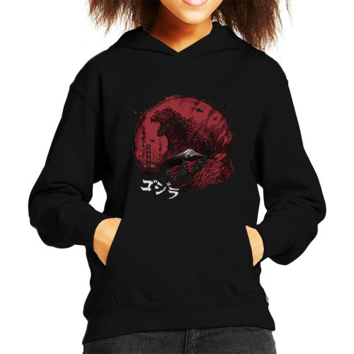 Godzilla Zillageddon Kid's Hooded Sweatshirt