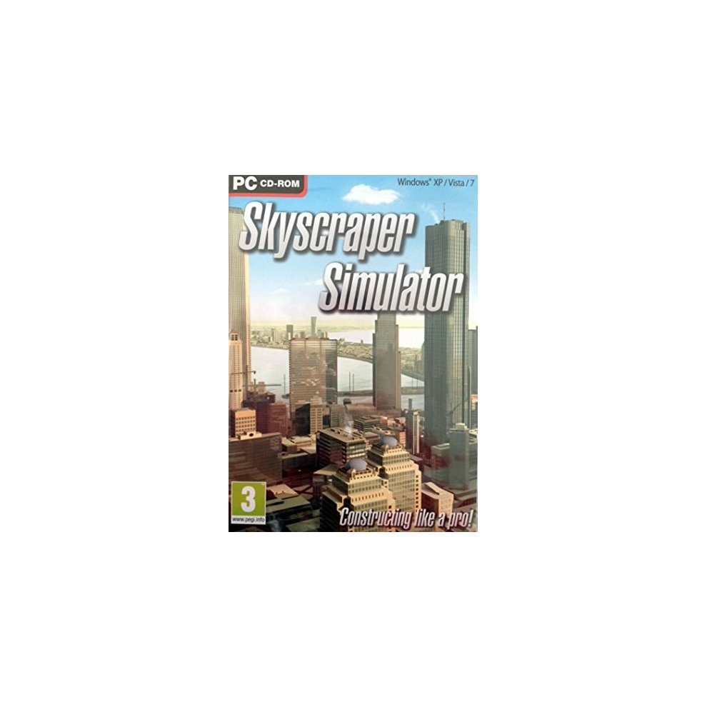 Skyscraper Simulator PC DVD ROM (New)