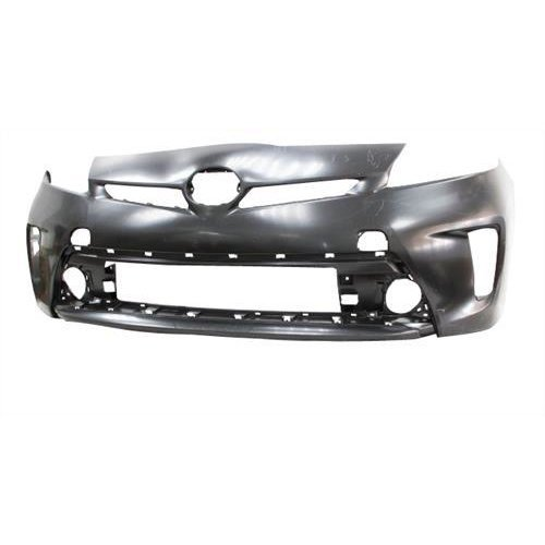 Toyota Prius Hatchback 2012-2016 Front Bumper No Wash Jet or Sensor Holes - Not Primed