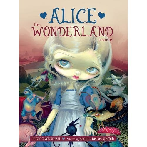 Alice: the Wonderland Oracle - 45 cards and 132-page guidebook