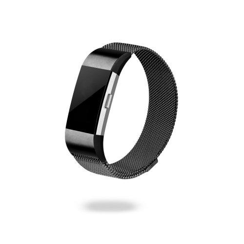Jivo Milanese Strap Fitbit Charge2 L Bl