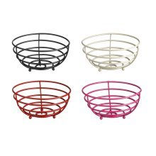 Helix Fruit Basket Metal Available in 4 Colours