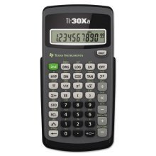 Texas Basic Scientific Calculator with 10 Digit Display (TI30XA)