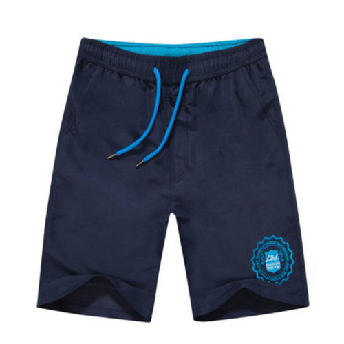 Quick-drying Pants Men Casual Boardshorts Holiday Loose Beach Shorts Travel Blue