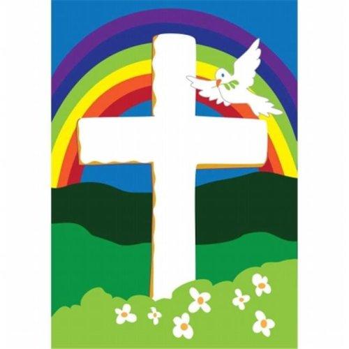 Faith Cross Flag, Large