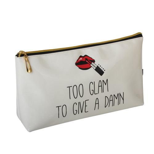 FMG Long Cosmetics Make Up Bag, Too Glam