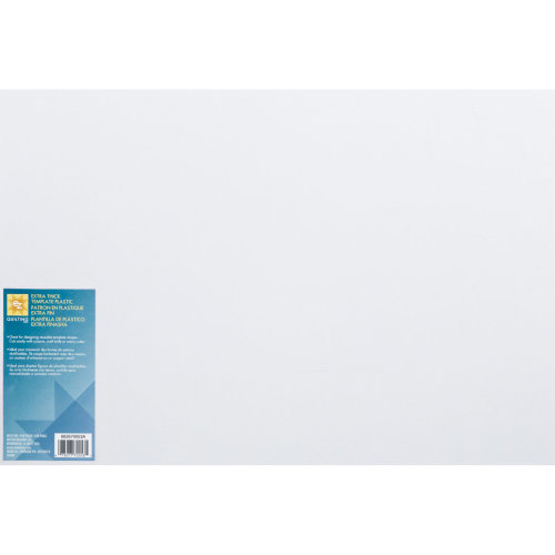 "EZ Quilting Extra Thick Plastic Template-12""X18"""