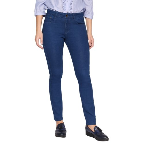 Mid Wash Classic Skinny Jeans