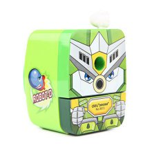 Cute Warrior Manual Pencil Sharpener for Office and Classroom ( Green )
