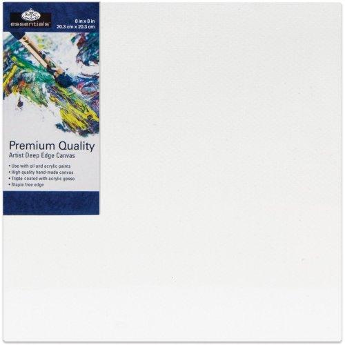 "essentials(TM) Premium Gallery Style Deep Edge Canvas-8""X8"""