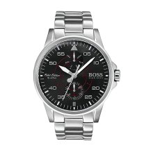 Hugo Boss 1513518 Men's Black Dial and Stainless Steel Case Watch