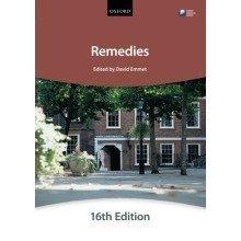 Remedies (bar Manuals)