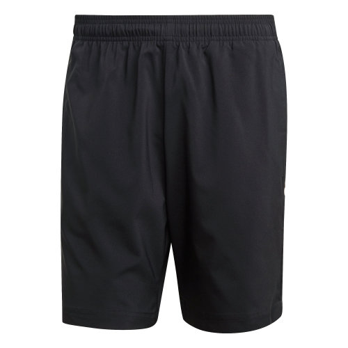 adidas Essential Linear Woven Mens Climalite Polyester Short Black