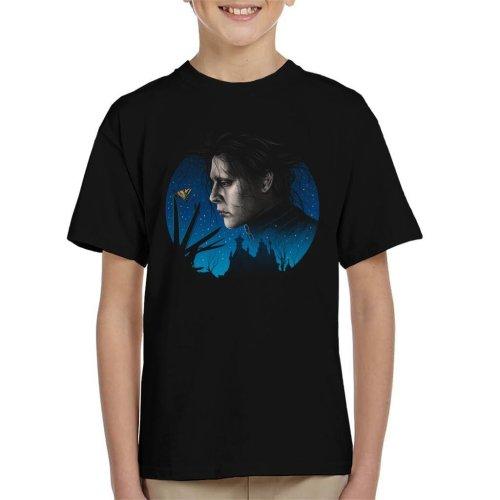 Scissored Gentleman Edward Scissorhands Kid's T-Shirt