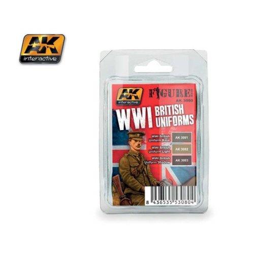 AK03080 - AK Interactive Set WWI British Uniforms