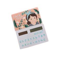 Ultra - thin Cute Mini Office Student Portable Calculator/Kids toys,A4