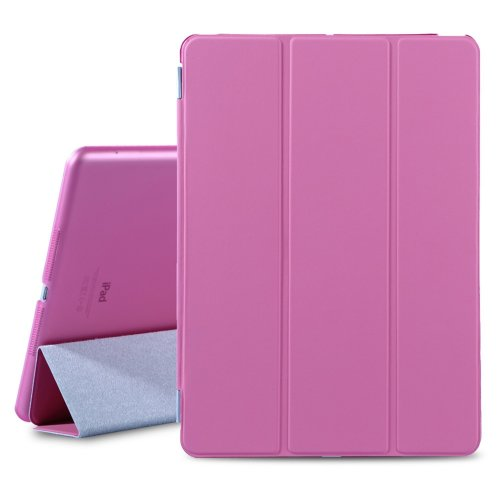 new product 02f35 3ff74 Besdata For Apple iPad Air Magnetic Smart Cover Stand + Hard Back Case Free  Stylus - Supreme Quality - Protects the Device - UK Stock - Pink - PT4104