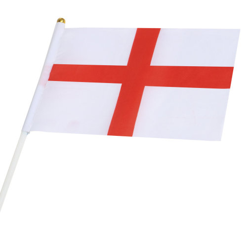 ST GEORGE CROSS HAND FLAG