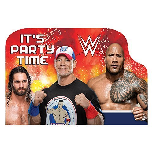 WWE Postcard Invitations