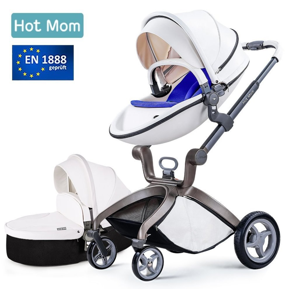 Hot Mom Pushchair 2018 3 in 1 Baby Stroller Travel System With Bassinet Whiteblue - 8b6609607686f5a , Hot-Mom-Pushchair-2018-3-in-1-Baby-Stroller-Travel-System-With-Bassinet-Whiteblue-13495718 , Hot Mom Pushchair 2018 3 in 1 Baby Stroller Travel System With Bassinet Whiteblue , Array , 13495718 , Baby & Toddler , OPC-PP7YTT-NEW