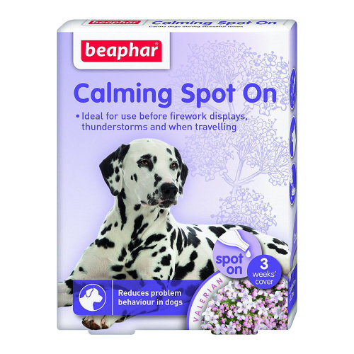 Beaphar Calming Spot On Anxiety Relief for Dogs