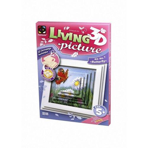 Elf956057 - Fantazer 3d Living Picture - Butterfly