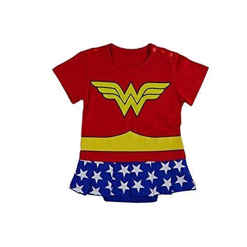 Wonder Woman-inspired Infant Superhero Costume