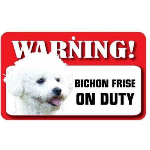 Bichon Frise Pet Sign
