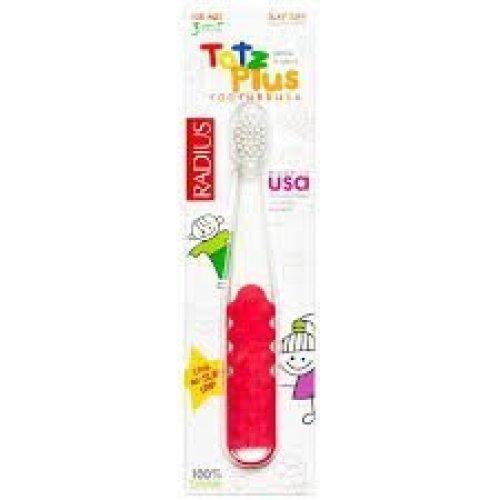 Toothbrush Totz Plus 3yrs+ Silky Soft Radius 1ct Brush