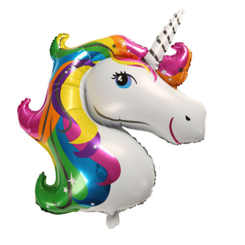 Unicorn Balloon Rainbow Happy Birthday Children's Party Supples Decoration UK