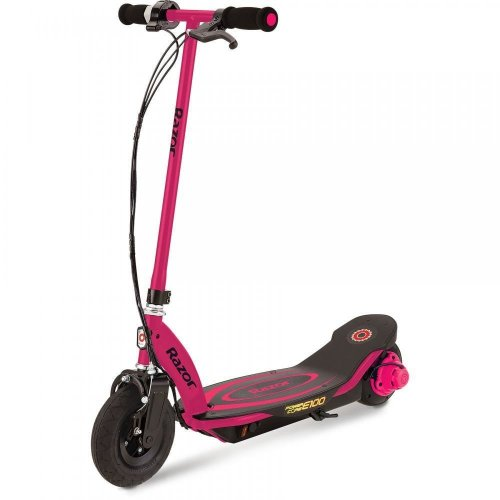 Razor Power Core E100 Kids Electric Scooter Calliper Brake 24V RAZPOCO-E100 Pink